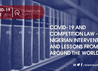 Covid19 and Competition Law