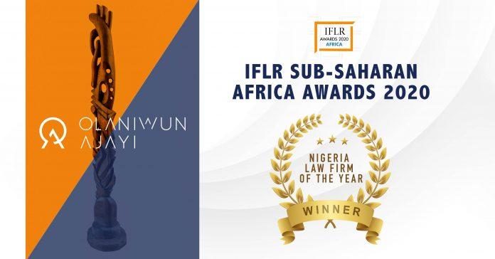 IFLR Nigerian Law Firm of the Year Award